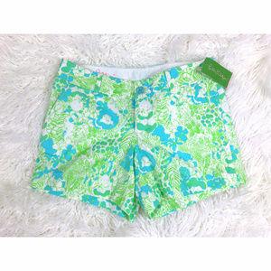 Lilly Pulitzer Limeade Callahan Shorts